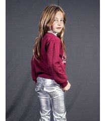 spodnie srebrne retro