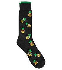 jos. a. bank comfort luxe pineapple socks, 1-pair