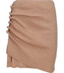 paco rabanne jupe mini skirt