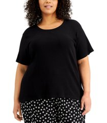jenni plus size pajama t-shirt, created for macy's