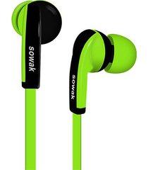 audífonos bluetooth deportivos, h4 audifonos bluetooth manos libres  sport running auriculares inalámbricos mini auriculares estéreo de prueba de sudor para sony iphone samsung (verde)