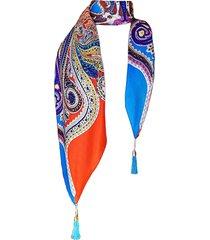 pañuelo lana marrakech azul viva felicia