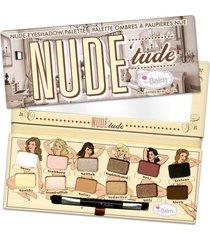 paleta de sombras the balm nude 'tude palette 11,08g
