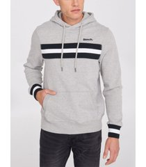 bench urbanwear athletic hoodie with stripe
