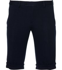 move by digel short - slim fit - blauw