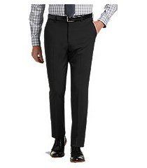 1905 collection slim fit flat front tech dress pant by jos. a. bank