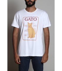 camiseta anatomia do gato