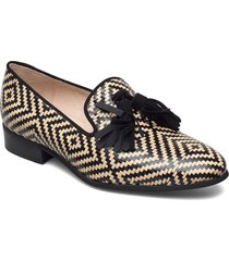 b-7601 miami/ante loafers låga skor svart wonders