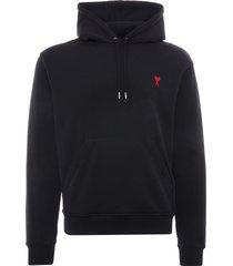 ami ami de coeur hoodie   black   bfhj008-001