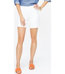 women's nydj pull-on denim shorts