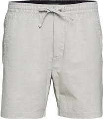 edit taper drawstring short shorts casual grå superdry