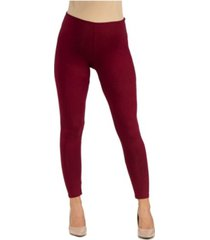 24seven comfort apparel women's stretch ankle length maternity leggings