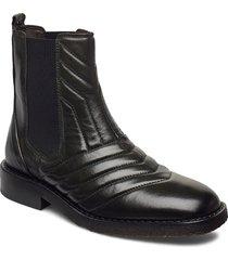 boots 4843 stövletter chelsea boot svart billi bi