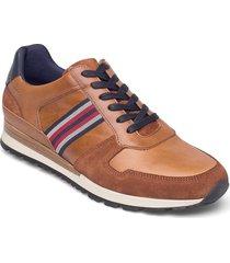 truro låga sneakers brun dune london