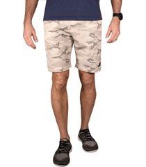 men's camo flat front gurkha shorts