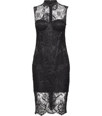 lou lace dress jurk knielengte zwart marciano by guess