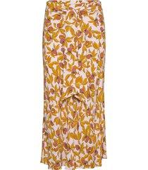 lois knälång kjol gul diane von furstenberg