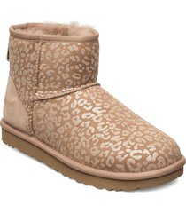 w classic mini slprd shoes boots ankle boots ankle boot - flat beige ugg