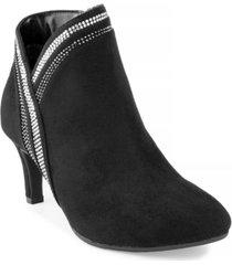 karen scott halena sparkle booties, created for macy's women's shoes
