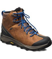 thermo glacier mid wp merrell tan shoes boots winter boots brun merrell