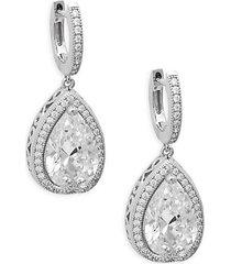 rhonda faber green sterling silver drop earrings