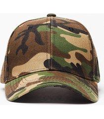 womens we're incognito camo baseball cap - green