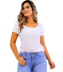 blusa en chifón manga corta blanca unipunto 32375