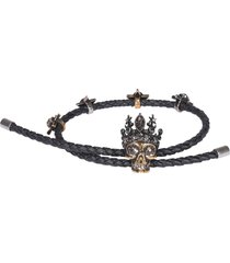 alexander mcqueen queen friendship bracelet