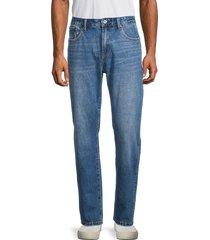 superdry men's heritage straight-leg jeans - boyce - size 33