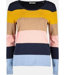 sweater mujer liso azul marino esprit