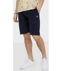 champion reverse weave bermuda shorts navy
