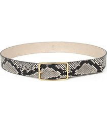 women's b-low the belt milla python embossed leather belt