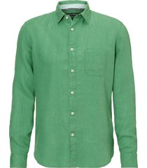 overhemd kent collar long groen