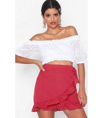 glamorous frill mini skirt minikjolar