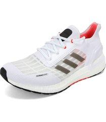 tenis running blanco-coral adidas performance ultraboost summer.rdy