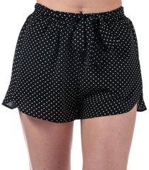 womens polka dot shorts