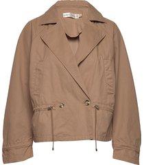 monaiw jacket outerwear jackets utility jackets beige inwear