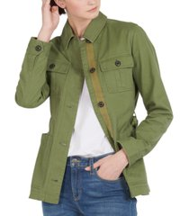 barbour victoria cotton utility jacket