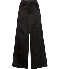 a.w.a.k.e. mode slit maxi skirt - black
