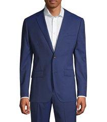 bonobos men's marzotto jetsetter wool suit jacket - blue - size 40 r