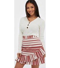 only onlsally athena wrap skirt wvn minikjolar