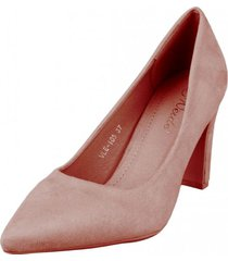 zapato formal sacmis rosa weide