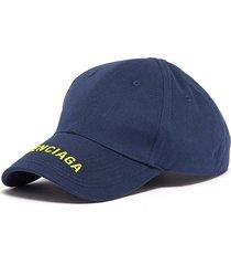 'everyday' logo embroidered visor baseball cap