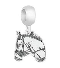 berloque de prata cavalo moments