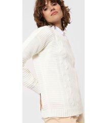 sweater blanco laila constanza