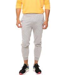 pantalón  gris  adidas originals  m bb tp