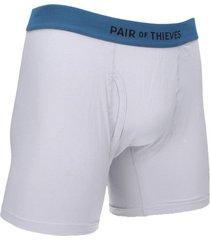 boxer  blanco/azul pair of thieves