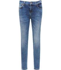 lonia spijkerbroek super skinny blauw