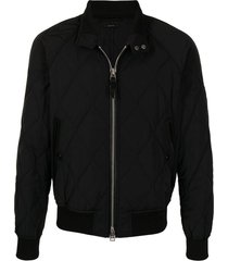 tom ford harrington quilted bomber jacket