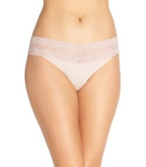 natori bliss perfection thong in rose beige at nordstrom